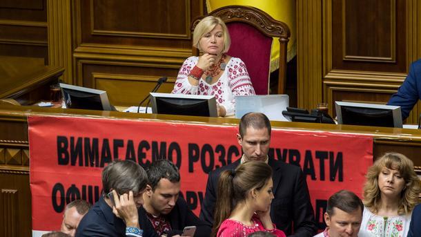 Порошенко вДавосе говорил обосвобождении заложников— Геращенко