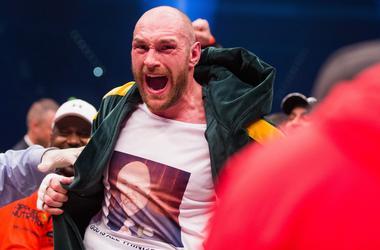 Fury a montré que passé le prix pour la lutte contre Klitschko (photo)