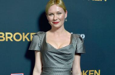 Kirsten dunst arrived at the party in a revealing outfit 13-year-old