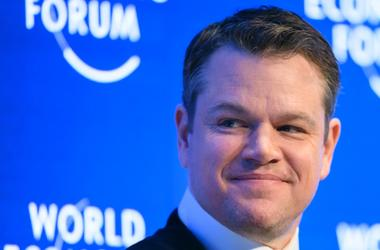 Actor Matt Damon wants to get trump to fight for clean water