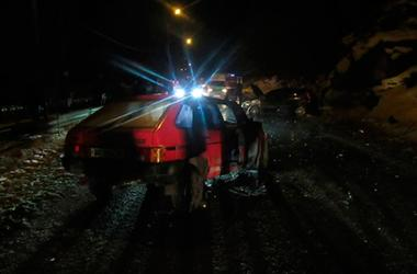 На Прикарпатье пьяный отец сел за руль: пострадали четверо детей и жена