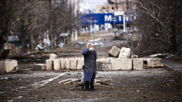 Вокруг Донецка идут бои. Фото: AFP