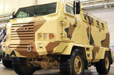 Ukrainian armored Hulk went winter testing