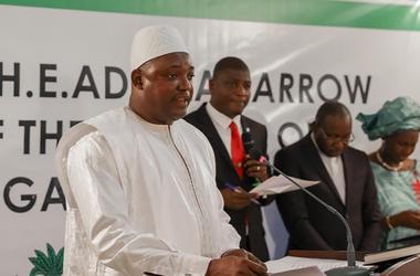 Новый президент Гамбии вернется на родину