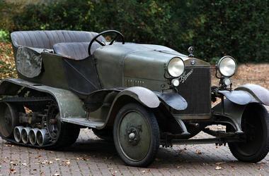 Unique vehicles: Alfa Romeo half-track