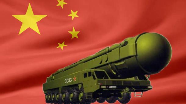 Китай разместил баллистические ракеты на границе с Россией