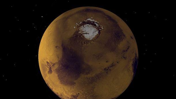 Создана компьютерная модель тепловых потоков внедрах Марса