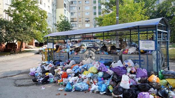 Власти Львова утверждают обопасности инфекционных заболеваний из-за мусора