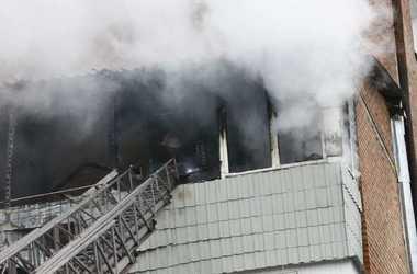 В общежитии Винницы вспыхнул пожар