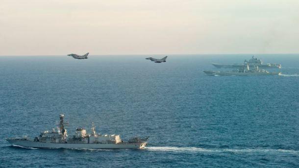 СМИ узнали озатратах Англии наслежку за«Адмиралом Кузнецовым»