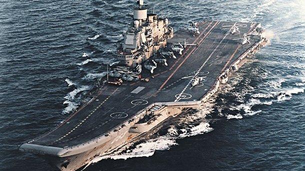 Руководитель Минобороны Великобритании назвал авианосец Адмирал Кузнецов «кораблем позора»