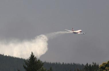 В Чили прибыл самый большой пожарный самолет