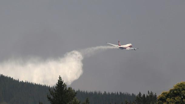 Лесные пожары вЧили: погибли четверо пожарных