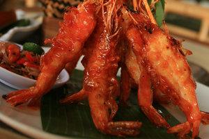 Мастер-класс от известного шеф-повара: медовые креветки по-балийски
