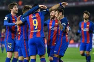 """Барселона"" разгромила ""Реал Сосьедад"" в Кубке Испании"