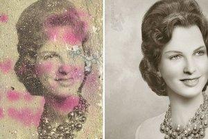 10 потрясающе отреставрированных фото