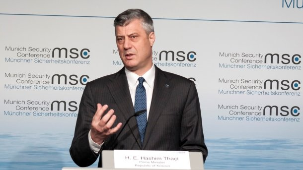 Хашим Тачи обвинил Белград впоставке оружия косовским сербам