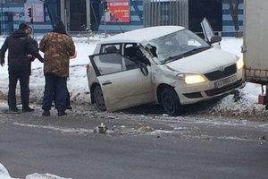 Тройное ДТП в Харькове: один из виновников аварии пытался убежать