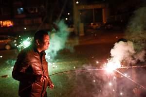 В Китае перед празднованием Нового года ограничили продажу пиротехники