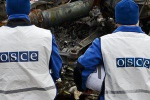 Камеры ОБСЕ зафиксировали ночные обстрелы в Станице Луганской