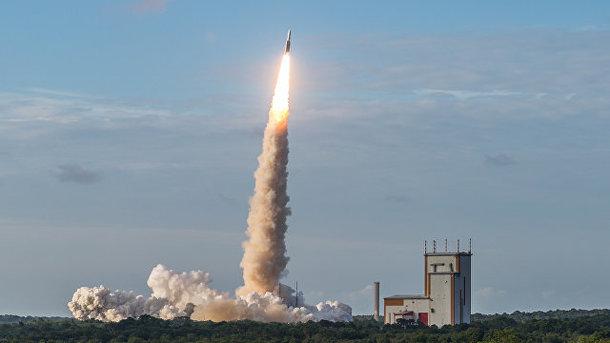 Русский «Союз» удачно стартовал сиспанским спутником наборту