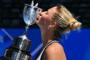 14-летняя украинка Марта Костюк выиграла юниорский Australian Open