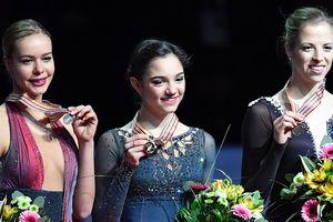 Евгения Медведева стала чемпионкой Европы по фигурному катанию