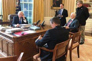 Трамп начал переговоры с Путиным