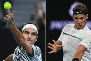 Финал Australian Open: Роджер Федерер против Рафаэля Надаля