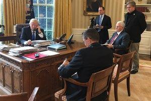 Путин и Трамп обсудили ситуацию на Украине