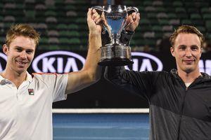 Континен и Пирс выиграли Australian Open в парном разряде