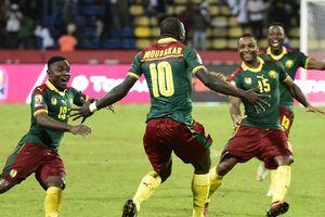 Сборная Камеруна вышла в полуфинал Кубка Африки