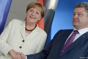 Порошенко обсудит с Меркель ситуацию с безопасностью на Донбассе