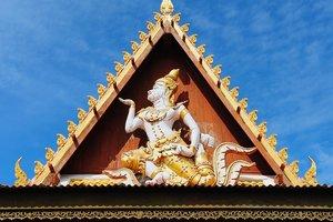На территории буддийского храма в Таиланде прогремел взрыв