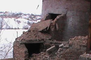 Обвал гигантской трубы в Черкасской области: котельная работает в аварийном режиме