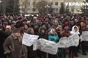 В Винницкой области люди бунтуют против закрытия больницы
