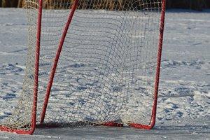 В Тернополе на озере провели хоккейный чемпионат
