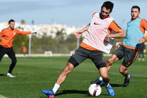 Паулу Фонсека провел отдельную тренировку с защитниками