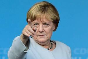 Меркель: Мы будем помогать Украине советами