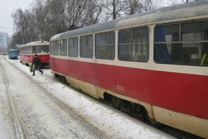 В Киеве временно прекращается движение трамваев маршрутов №22, №28, №33