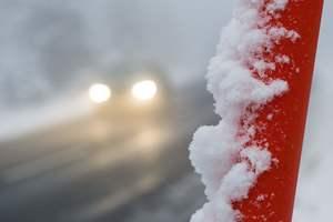 Полиция обратилась к водителям из-за лютых морозов