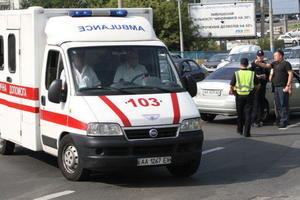 Во Львове студент пытался залезть в общежитие по простыням и сорвался вниз