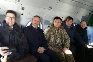 Главы МИД Украины и Дании отправились на Донбасс