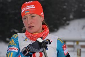 Спортивный суд приостановил дисквалификацию украинской биатлонистки Абрамовой