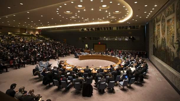 Украина внесла вСовбез проект резолюции поситуации вДонбассе