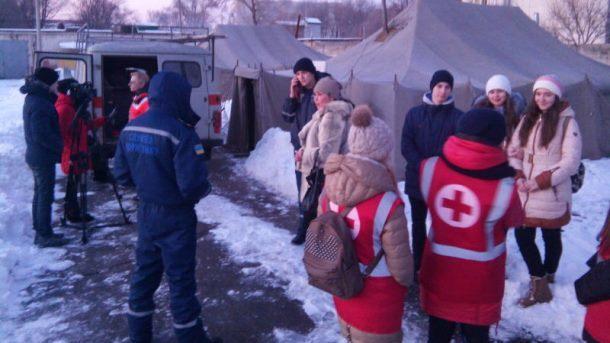 Гуманитарная помощь «Красного Креста» прибыла вАвдеевку