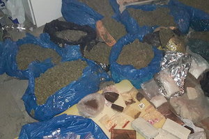 Наркотики на 20 млн грн и оружие: в Запорожской области задержан криминальный авторитет