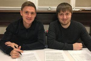 Калитвинцев подписывает контракт с Зарей