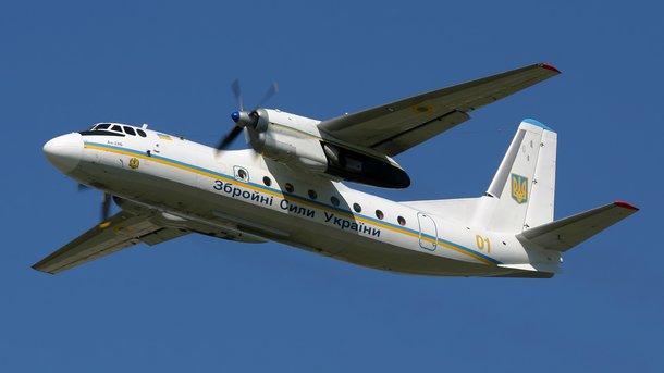 Минобороны назвало неправдою сообщения обобстреле украинского самолета