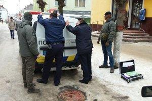 Трое львовских полицейских погорели  на взятке